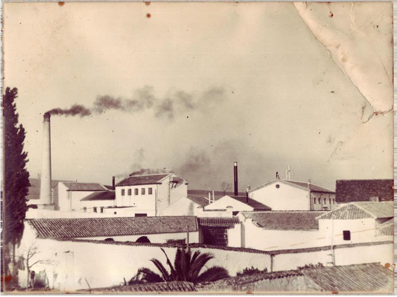 Fotografía de la antigua fábrica de La Loperana
